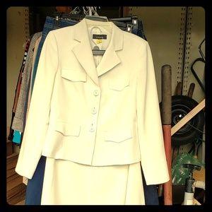 White Women's Suit
